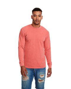 Next Level 7451 - T-Shirt Adulte Inspired Dye - Crew à manches longues avec poche