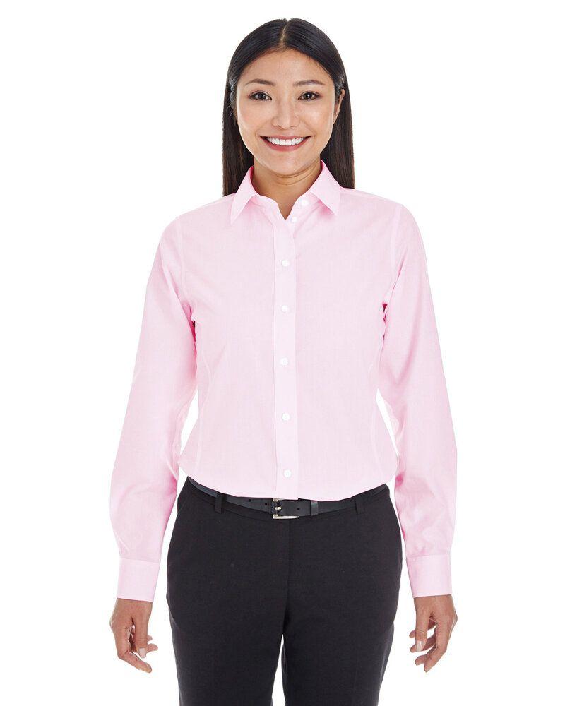 Devon & Jones DG534W - Ladies Crown Collection™ Striped Shirt