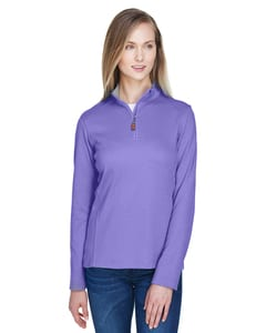 Devon & Jones DG479W - Chandail Drytec20 Performance Quarter-Zip pour femme