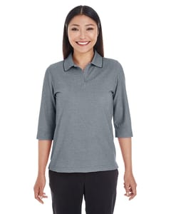 Devon & Jones DG220W - Ladies Pima-Tech™ Oxford Piqué Polo