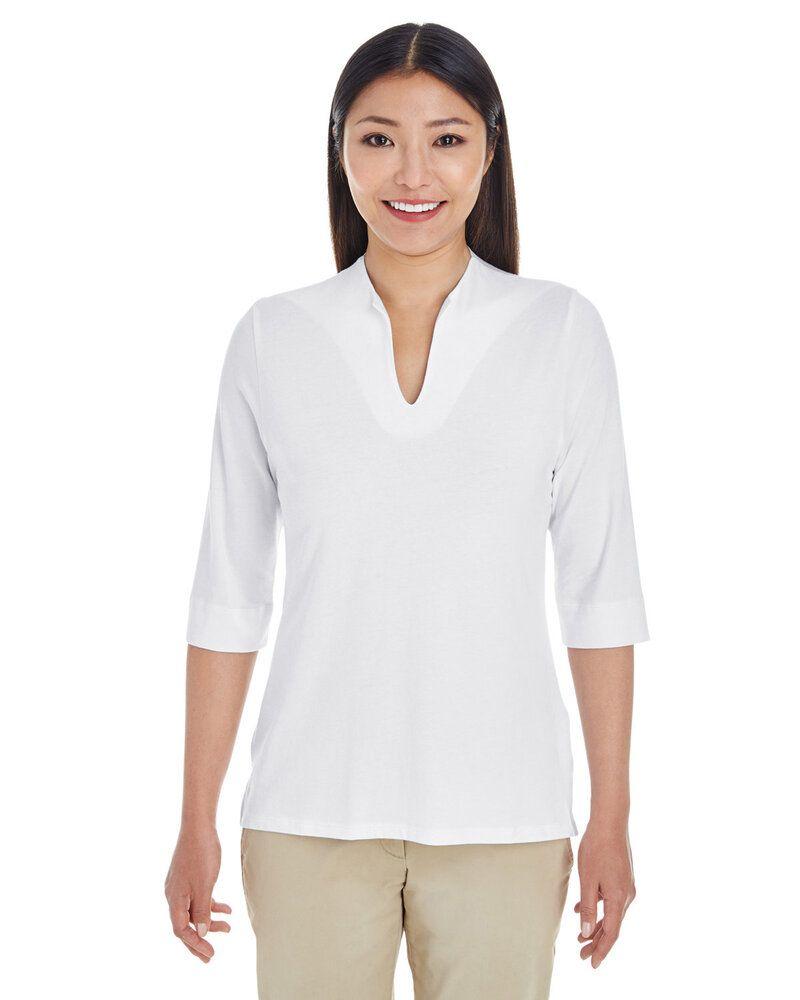 Devon & Jones DP188W - Ladies Perfect Fit™ Tailored Open Neckline Top