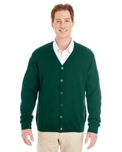 Harriton M425 - Mens Pilbloc™ V-Neck Button Cardigan Sweater