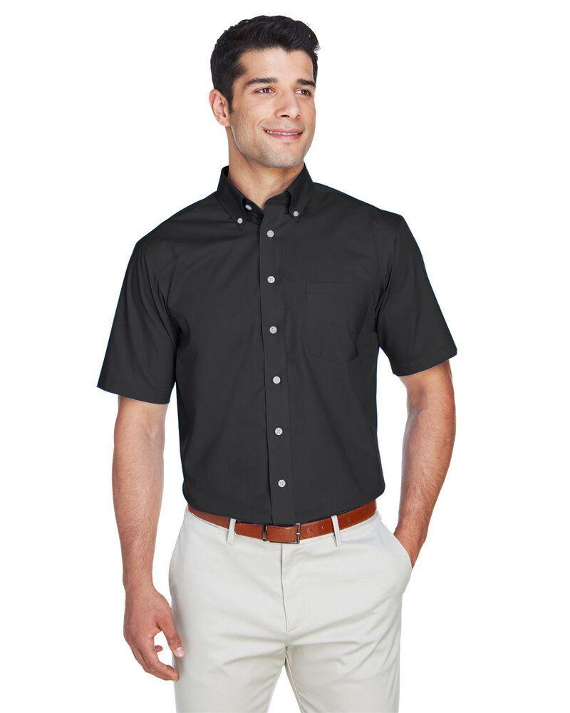 Devon & Jones D620S - Men's Crown Collection™ Solid Broadcloth Short Sleeve Shirt