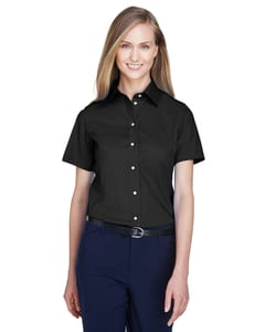Devon & Jones D620SW - Ladies Crown Collection™ Solid Broadcloth Short Sleeve Shirt