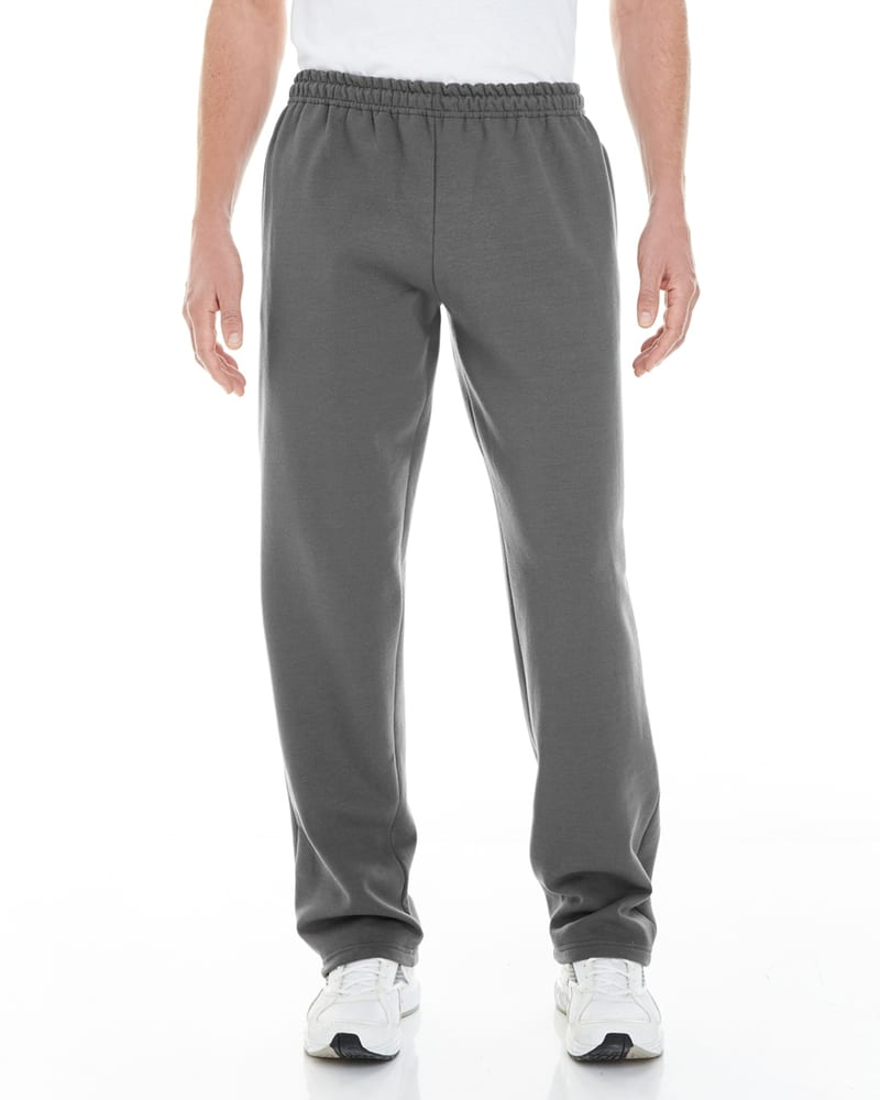 Gildan G183 - Adult Open-Bottom Sweatpants with pockets