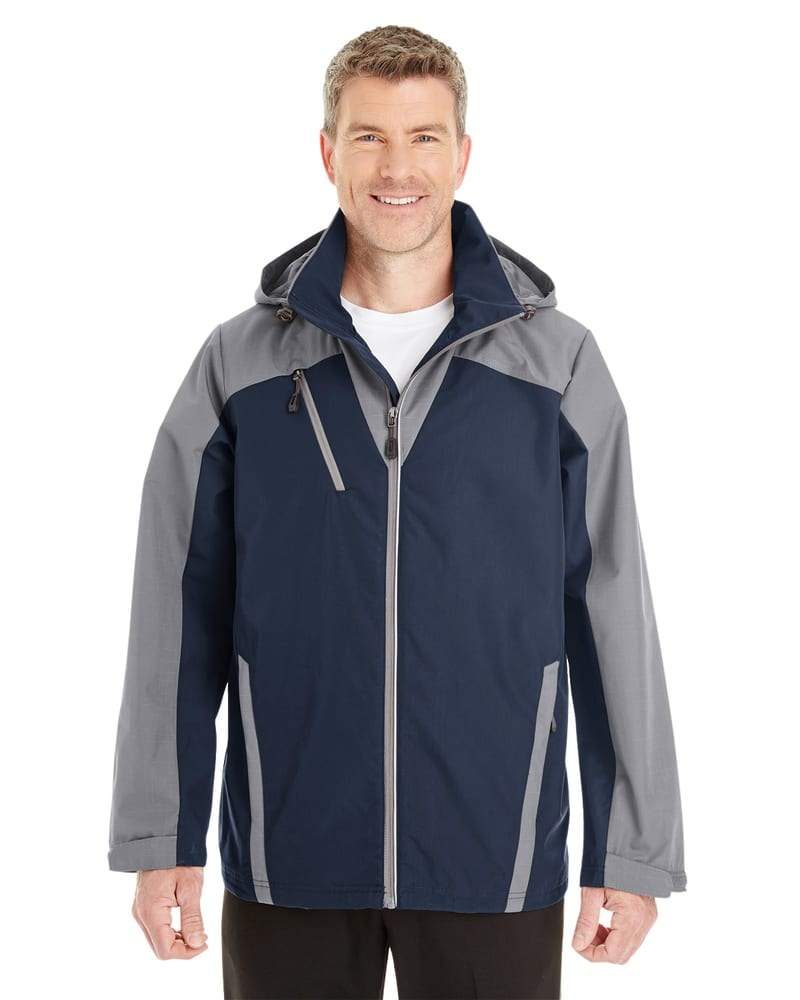 Ash City North End NE700 - Men's Embark Colorblock Interactive Shell with Reflective Printed Panels