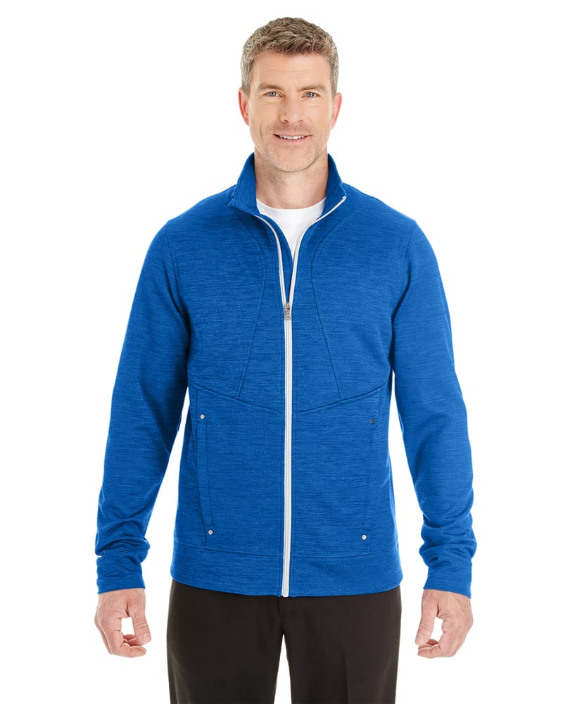 Ash City North End NE704 - Men's Amplify Melange Fleece Jacket