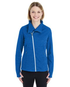 Ash City North End NE704W - Ladies Amplify Melange Fleece Jacket