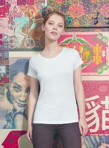 B&C BC047 - TW047 T-Shirt Filo Grosso Donna