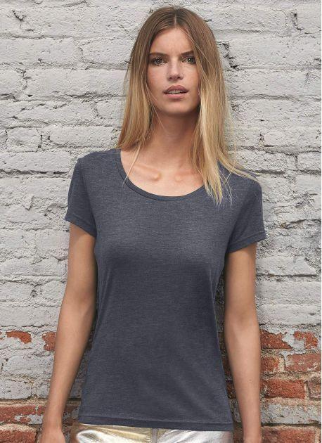 B&C BC056 - Tee-Shirt Femme Tri-Blend