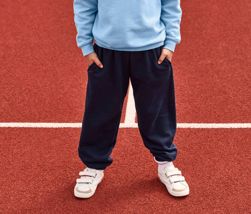 Fruit of the Loom SC291 - Pantalon de Jogging Enfant