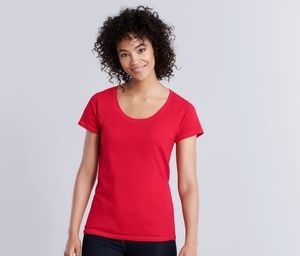 Gildan GN645 - Wide Neck T-Shirt for Women