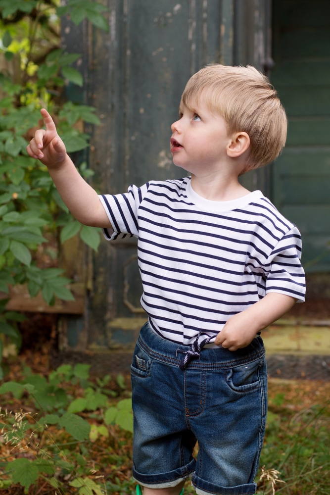 Larkwood LW027 - Kids Striped Crew Neck Tee Shirt