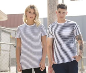 SF Men SF202 - Unisex Striped T