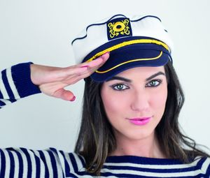 Atlantis AT018 - Casquette Style Capitaine