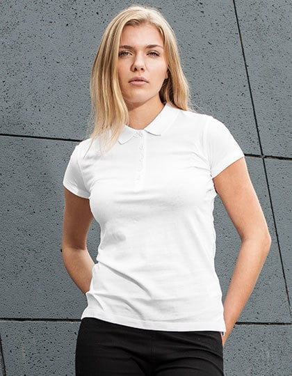 Build Your Brand BY023 - Ladies Jersey Polo