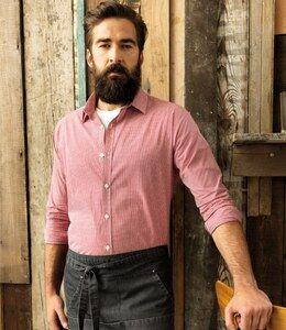 Premier PR220 - Gingham Long Sleeve Shirt
