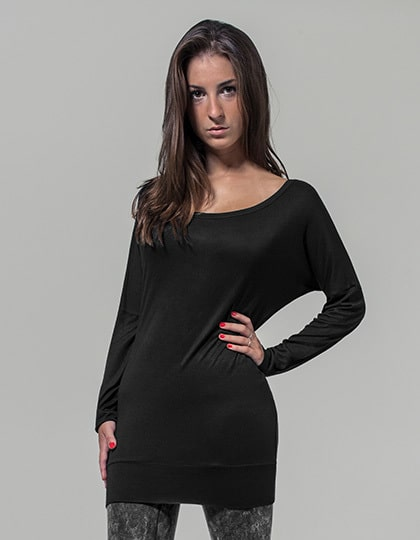 Build Your Brand BY041 - Ladies Viscose Longsleeve