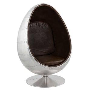 Atelier Mundo UOVO ALU - Chaise design