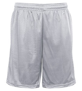 Badger BD7219 - Adult Pocketed Mesh Short