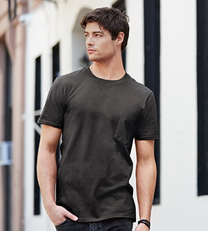 Anvil 983 - ADULT LIGHTWEIGHT POCKET TEE