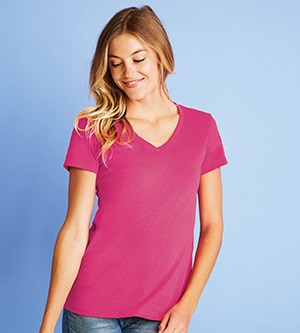 Next Level NL6480 - LADIES' SUEDED V-NECK TEE