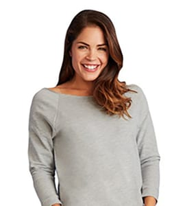 Next Level NL6951 - Womens French Terry Raglan
