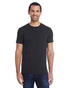 Threadfast 152A - Mens Invisible Stripe Short-Sleeve T-Shirt