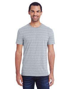 Threadfast 152A - Mens Invisible Stripe Short-Sleeve T-Shirt