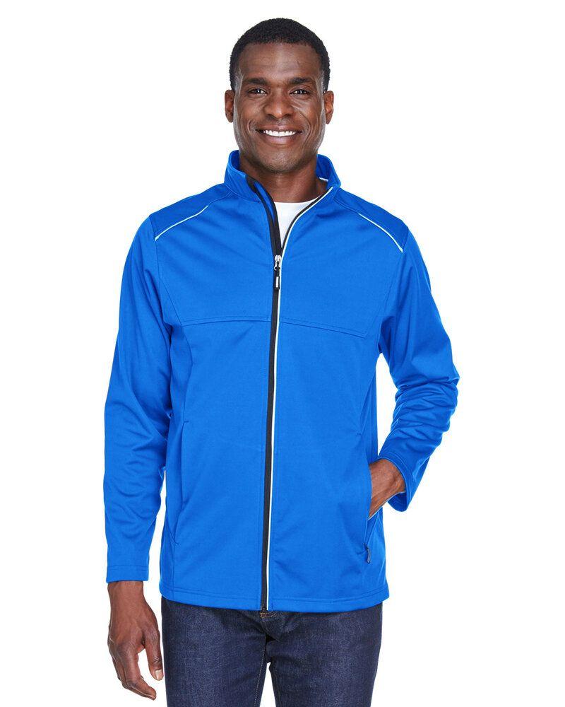 Core 365 CE708 - Gilet Techno Lite à trois couches en tricot Tech-Shell pour homme