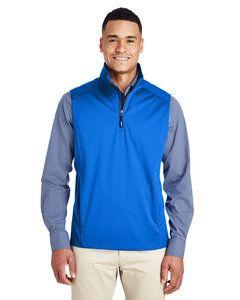 Core 365 CE709 - Mens Techno Lite Three-Layer Knit Tech-Shell Quarter-Zip Vest