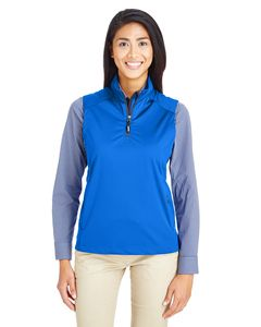 Ash City - Core 365 CE709W - Ladies Techno Lite Three-Layer Knit Tech-Shell Quarter-Zip Vest