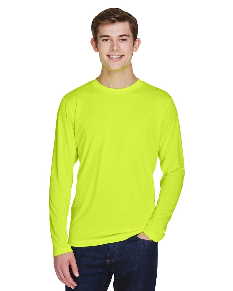Team 365 TT11L - Men's Zone Performance Long-Sleeve T-Shirt