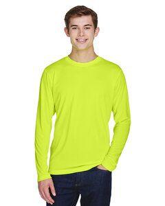 Team 365 TT11L - T-Shirt à manches longues Zone Performance pour homme