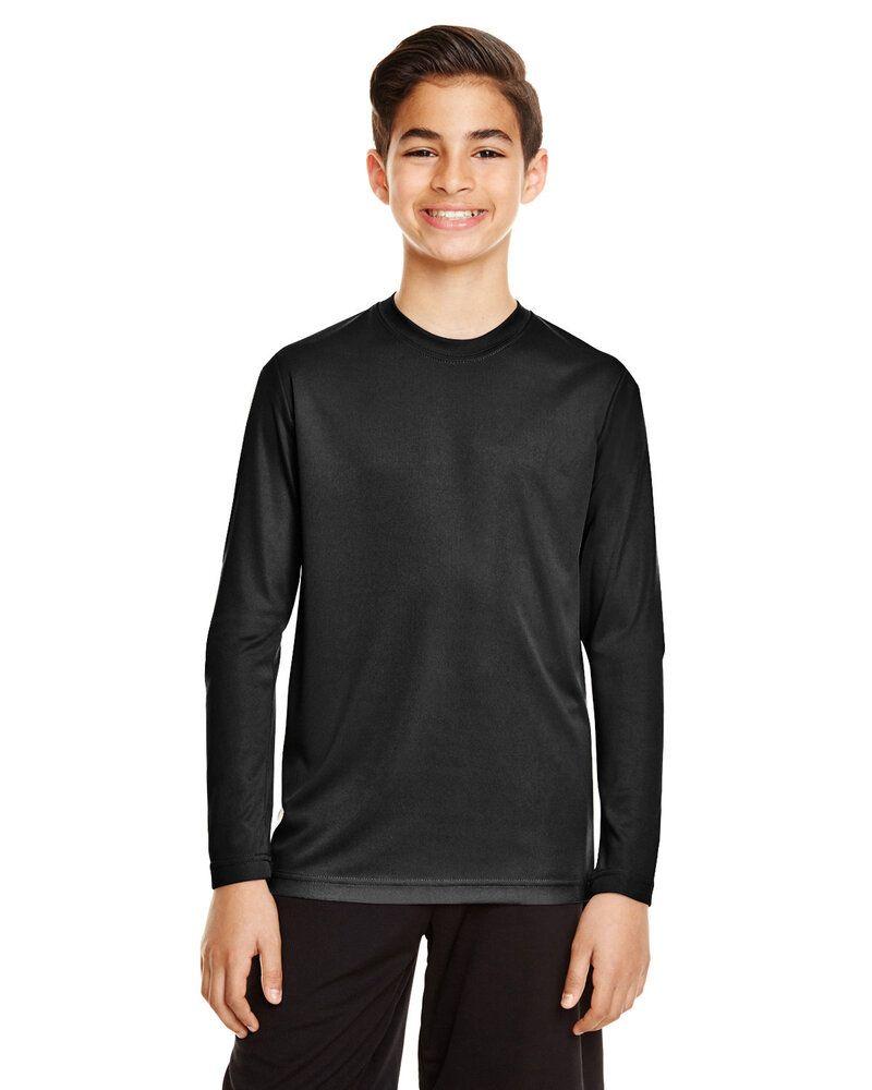Team 365 TT11YL - T-shirt à manches longues Zone Performance pour jeune
