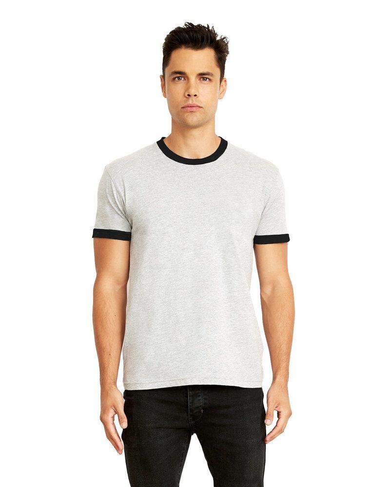 Next Level 3604 - T-Shirt unisexe Ringer