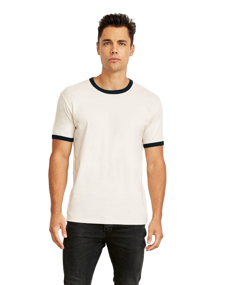 Next Level 3604 - T-Shirt unisexe Ringer