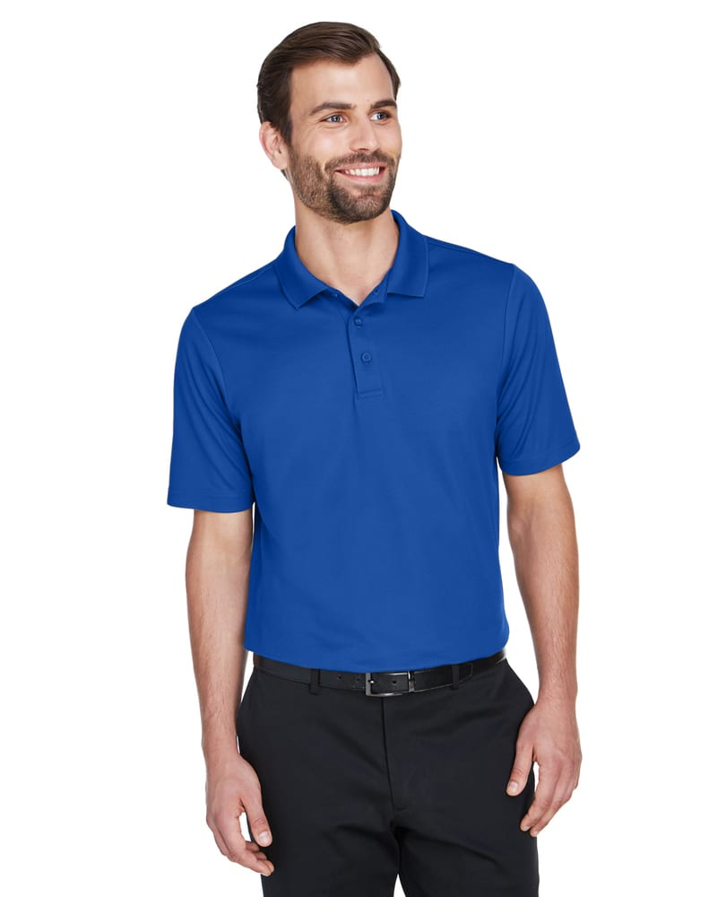 Devon & Jones DG20T - Men's Tall CrownLux Performance™ Plaited Polo