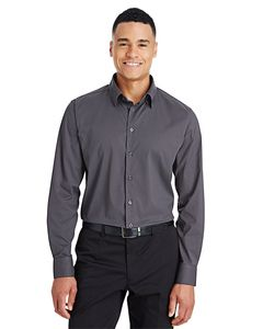 Devon & Jones DG535 - Mens CrownLux Performance™ Tonal Mini Check Shirt