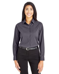 Devon & Jones DG535W - Ladies CrownLux Performance™ Tonal Mini Check Shirt
