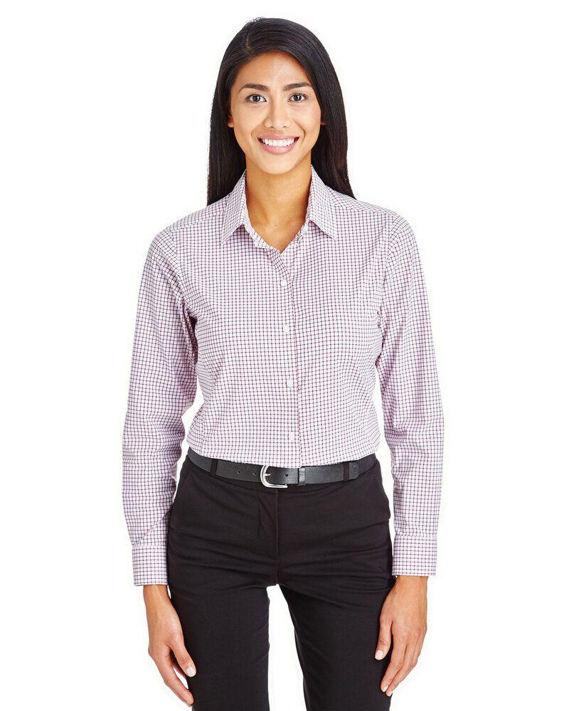 Devon & Jones DG540W - Ladies CrownLux Performance™ Micro Windowpane Shirt