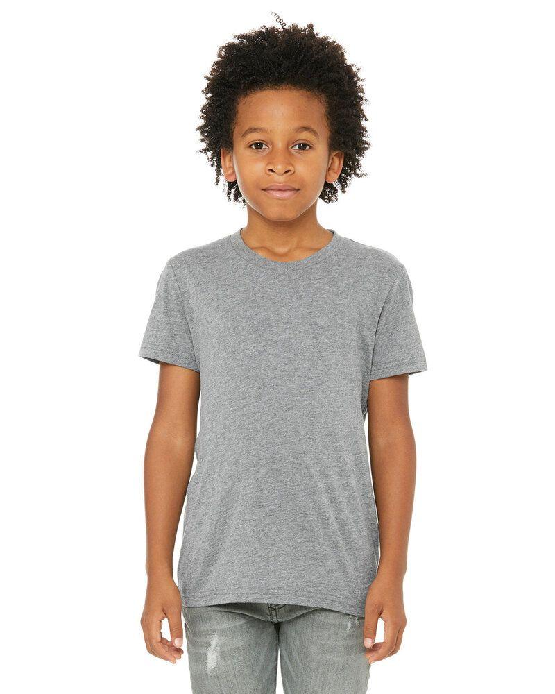 Bella+Canvas 3413Y - Youth Triblend Short-Sleeve T-Shirt