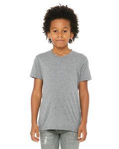 Bella+Canvas 3413Y - T-shirt à manches courtes Triblend pour jeune