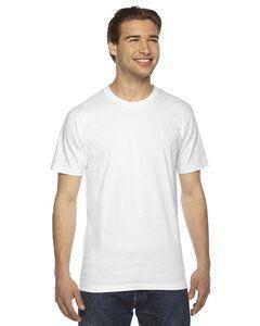 American Apparel 2001W - T-shirt unisexe à manches courtes en jersey fin
