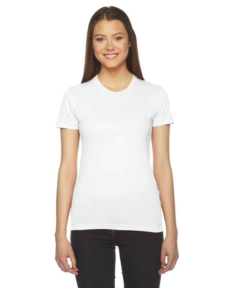 American Apparel 2102W - Ladies Fine Jersey Short-Sleeve T-Shirt