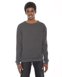 American Apparel F496W - Unisex Flex Fleece Drop Shoulder Pullover Crewneck