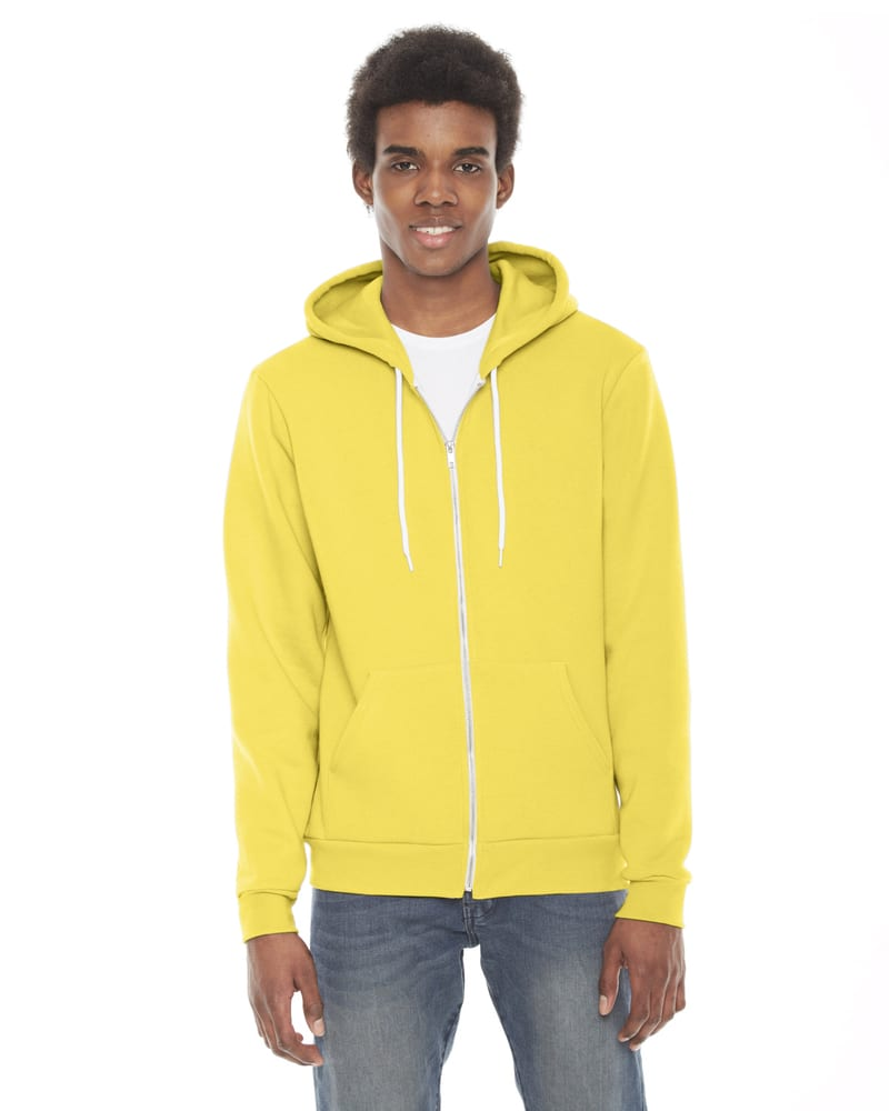 American Apparel F497W - Unisex Flex Fleece Zip Hoodie
