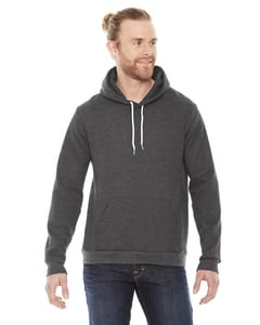 American Apparel F498W - Unisex Flex Fleece Drop Shoulder Pullover Hoodie