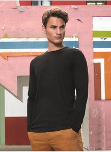 B&C BC070 - Mens Organic Cotton Long Sleeve T-Shirt