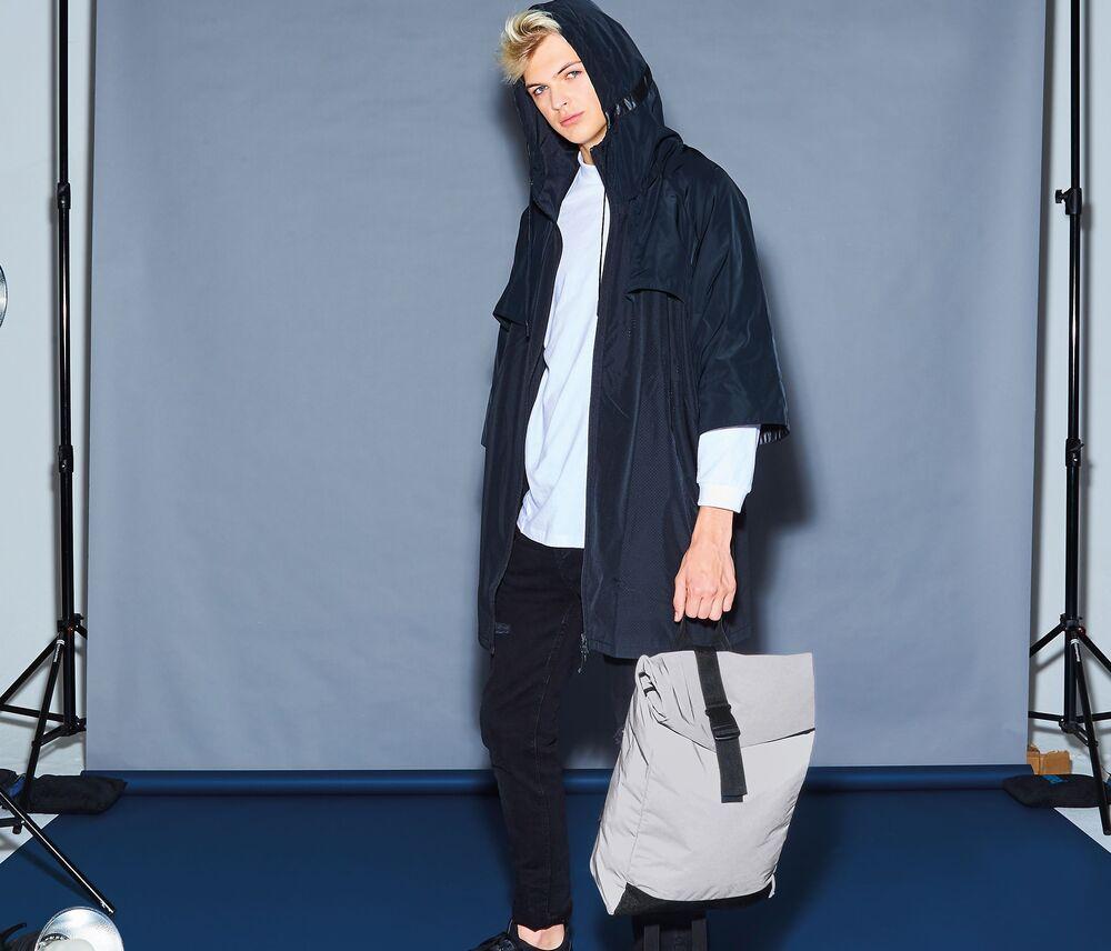 BagBase BG138 - Reflective roll-top backpack